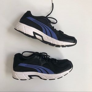 Puma Axis V3 Running Sneakers Secure Fit Black